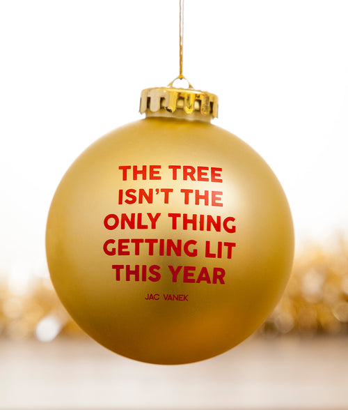 LIT TREE ORNAMENT
