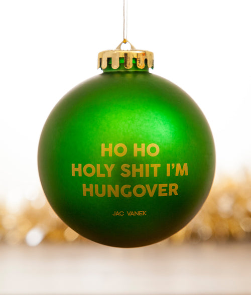 HUNGOVER TREE ORNAMENT