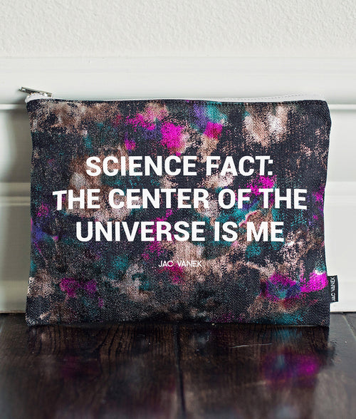 SCIENCE FACT ZIP POUCH