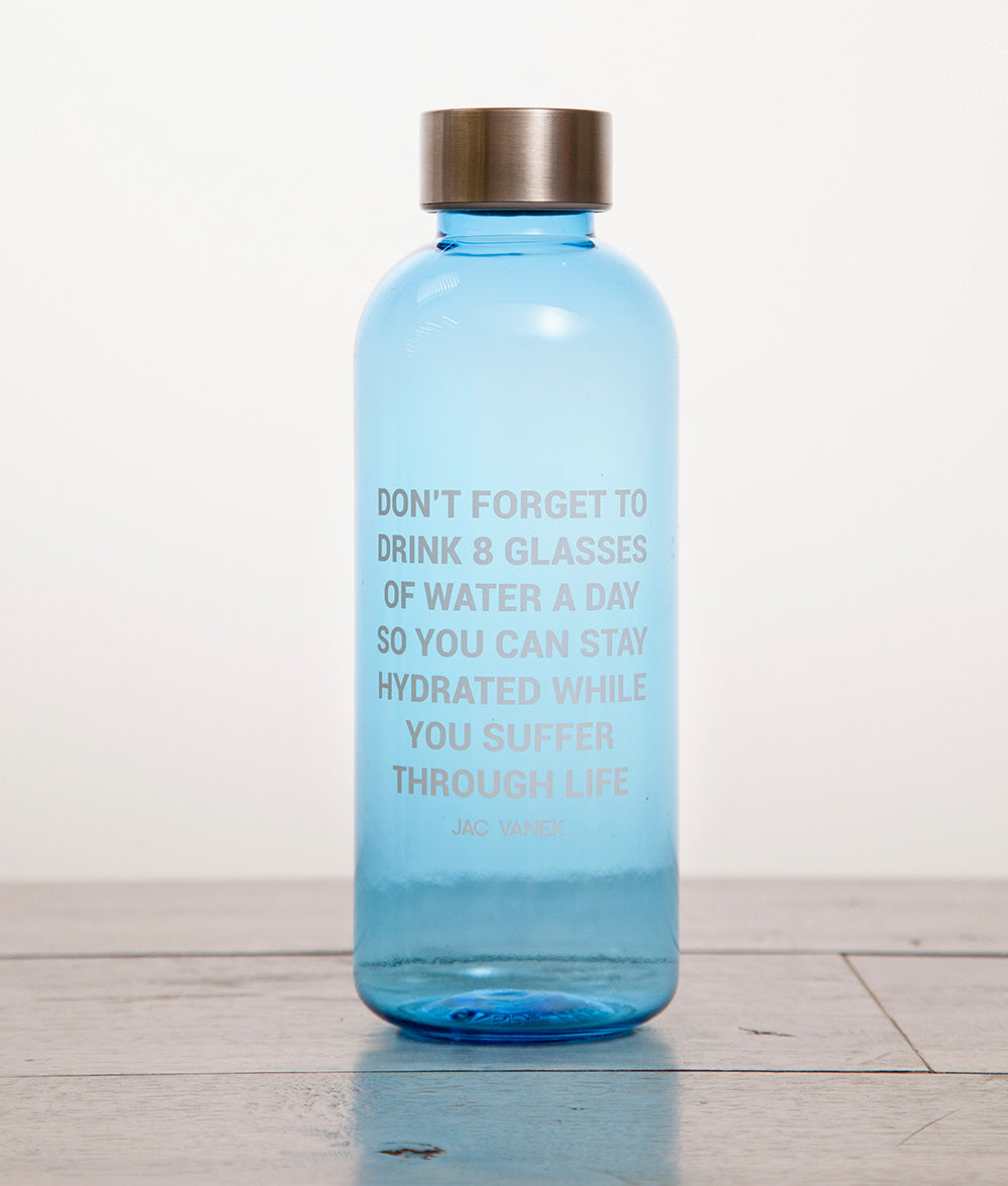 STAY HYDRATED 20 OZ WATER BOTTLE