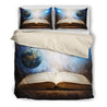 Book universe bedding set