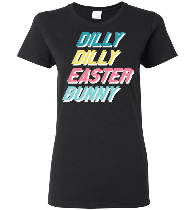 Dilly Dilly Easter Bunny Text Easter day