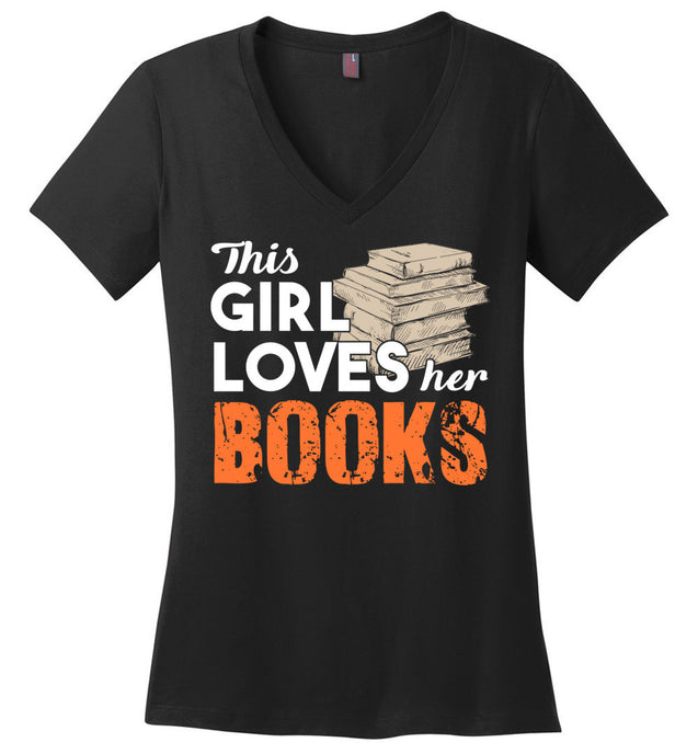 This girl loves her books