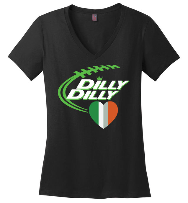 Dilly Dilly Bud Light Heart Flag S.T Patrick's Day