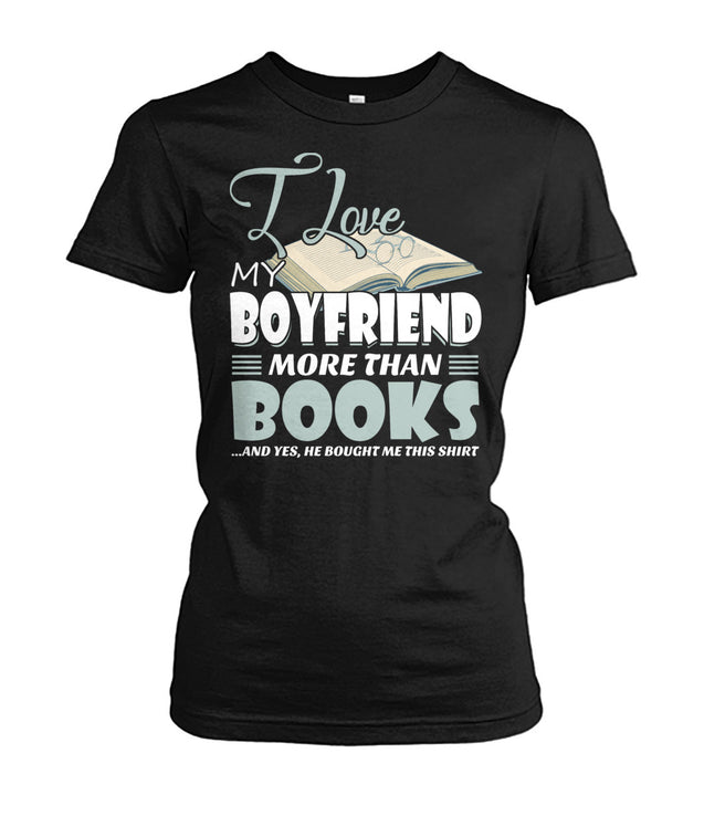 I love my boyfriend more than books