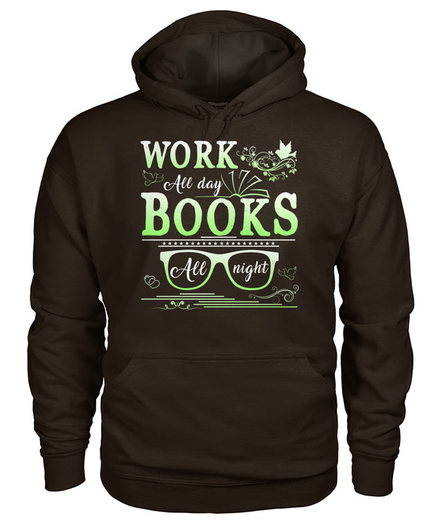 Work all day, Books all night
