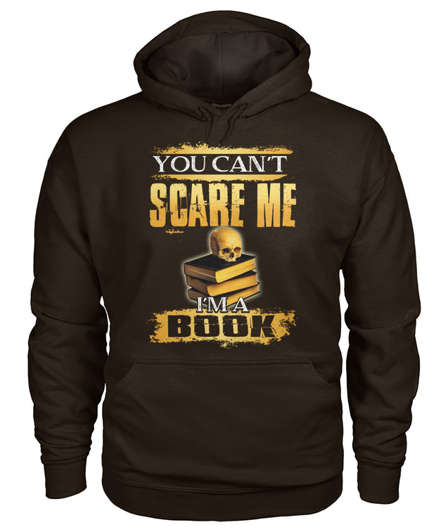 You can't scare me. I'm a book