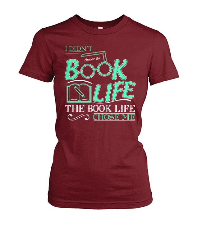 I didn't choose the book life, the book life chose me