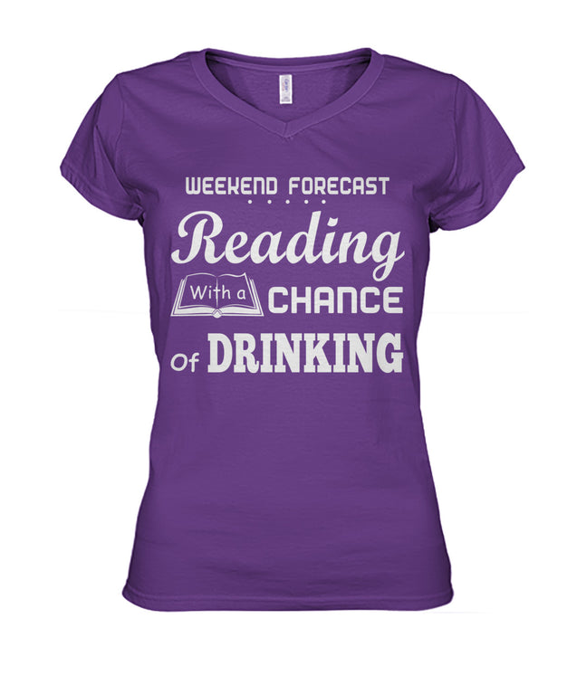 Weekend Forecast Reading with a chance of Drinking