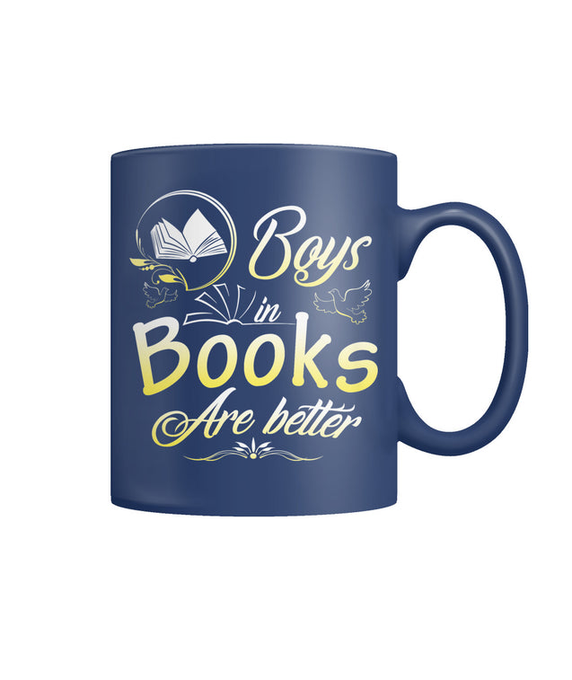 Boys in books are better