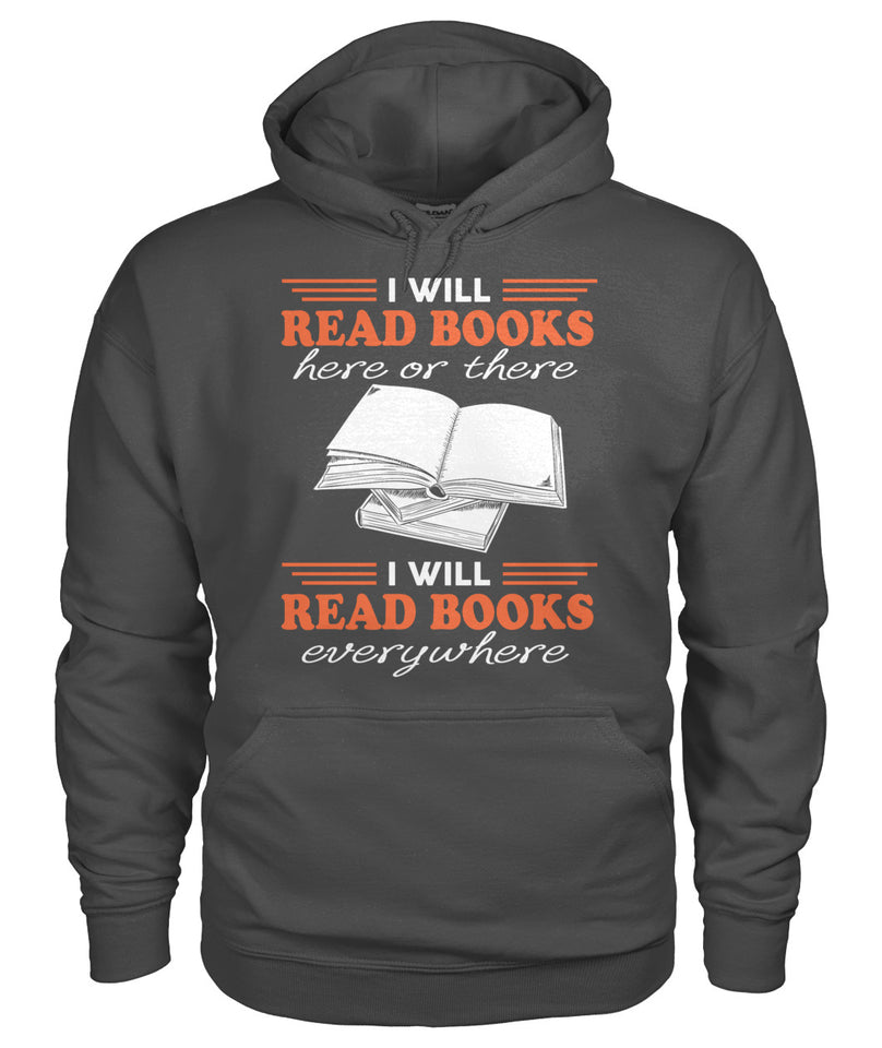 I will read books everywhere