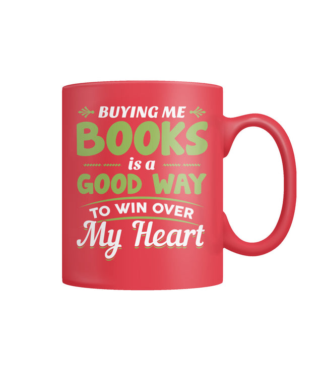 Buying me books