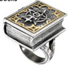 Ring for book lovers