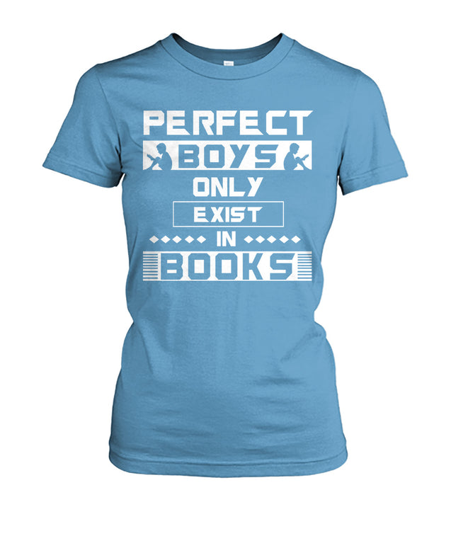 Perfect boys only exist in books
