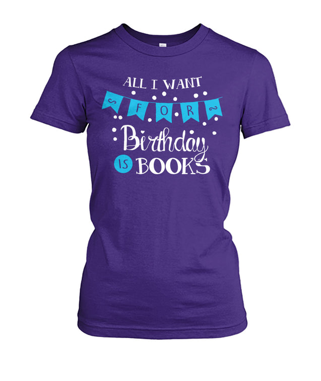 All I want for birthday is books