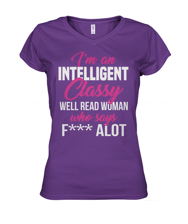 I'm an intelligent classy well read women