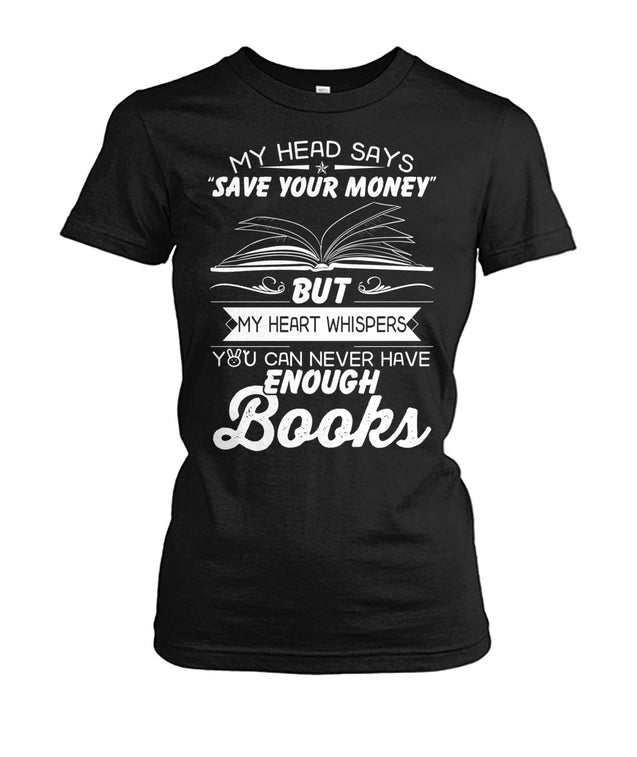 I want to buy more books
