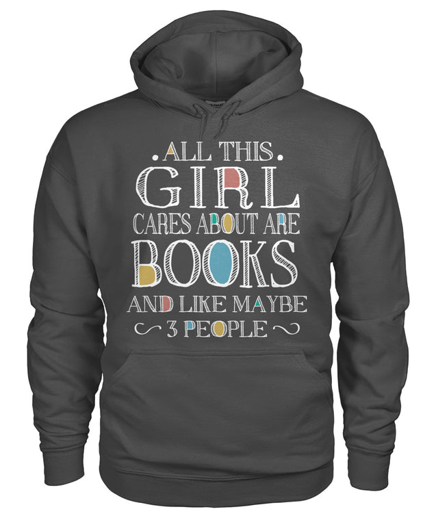 All this girl cares about are books and ...
