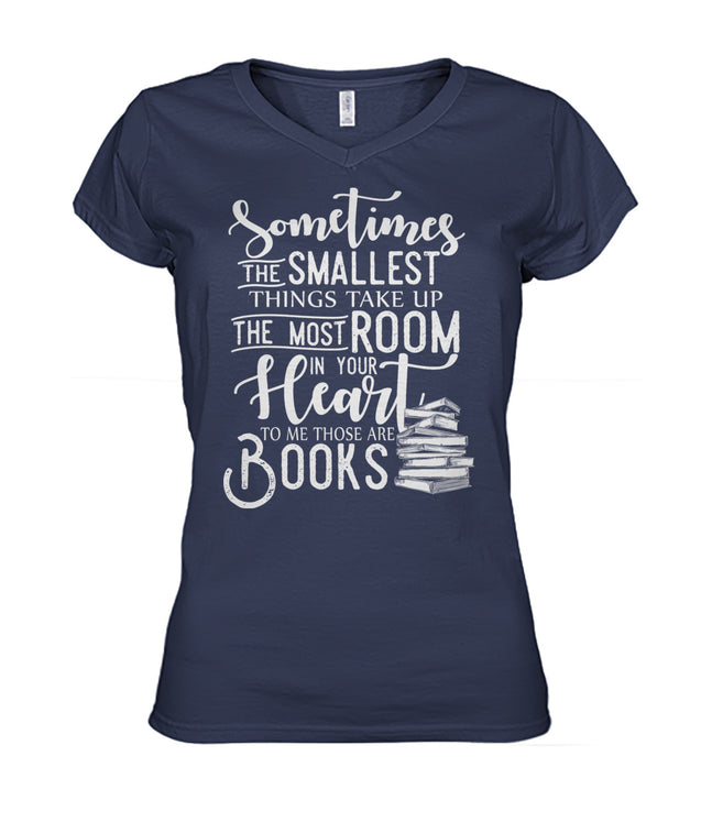Sometimes the smallest things take up the most room in your heart. To me, those  are books