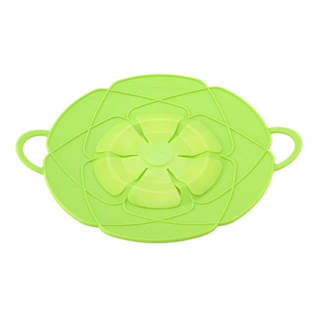 New Arrival Kitchen Gadgets Silicone Lid Spill Stopper Pot Cover 28.5cm Diameter