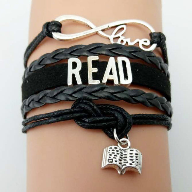 Love Books Bracelet-  Gift