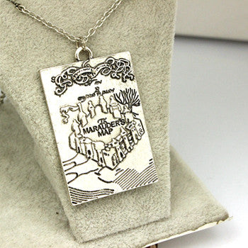 A Time The Story Book Pendant Necklace