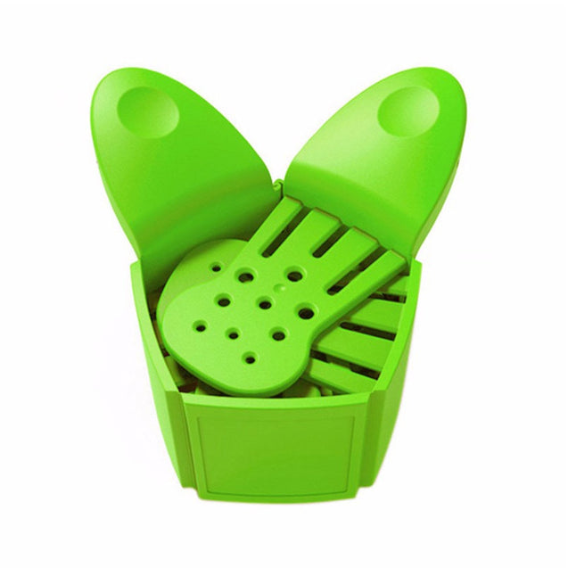 Creative Foldable Multifunction Funnel Pan Strainer Pot Bowl Baking