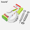 Stainless Steel Cut Fruit Spoon Watermelon Slicer Smart Kitchen