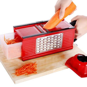 4 in 1 planer cut chopper Vegetable Slicer Stainless Steel Cutting Grater Carrot Potato