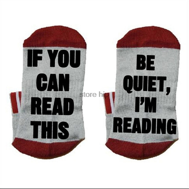 Book lover Socks cotton comfortable