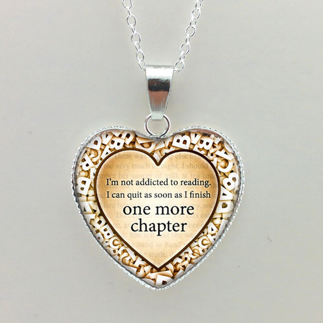 One more chapter  Heart Necklace