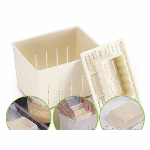 DIY Plastic Tofu Press Mould Homemade Tofu Mold Soybean Cooking Tool