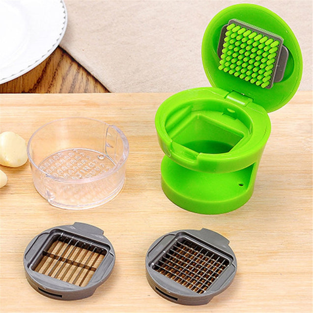 Stainless Steel Gadgets Grater Garlic Crusher Press Grinding Gingers Utensils