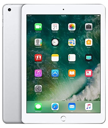 Apple iPad with WiFi + Cellular, 128GB, Silver (2017 Model)