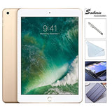 Apple iPad 9.7 Retina Display with Saiborie $49.99 Value Bundle, 2017 5th Gen 32GB, M9, Wi-Fi, MIMO, Bluetooth, Apple iOS 10 (Gold)