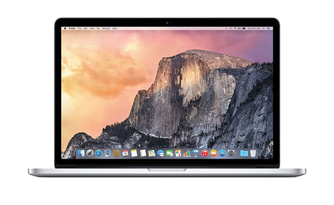Apple 15 Inch MacBook Pro Laptop (Retina Display, 2.2GHz Intel Core i7, 16GB RAM, 256GB Hard Drive, Intel Iris Pro Graphics) Silver, MJLQ2LL/A