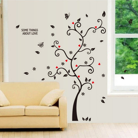 2017 Home Use Creatively Tree Wall Decal Sticker Removable Mural PVC Home Art Decor DIY