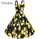FLOYLYN Women Casual Office Beach Summer Dress Plus Size