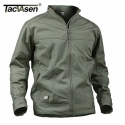 TACVASEN Military Men Jacket Waterproof Anti-Pilling Tactical Jacket Softshell Summer Spring Breathable Army Jacket TD-YCXL-018