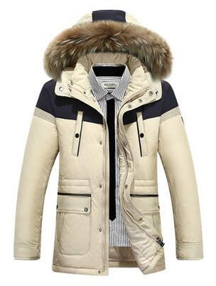 Free shipping Men Parka  Clothing Quality Thick Warm Winter Jacket Men Fashion Casual Cotton Hooded Coat Jacket Pocket 190hfx