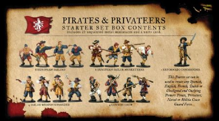 Pirates and Privateers Nationality Set
