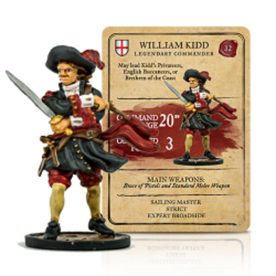 William Kidd Legendary Commander
