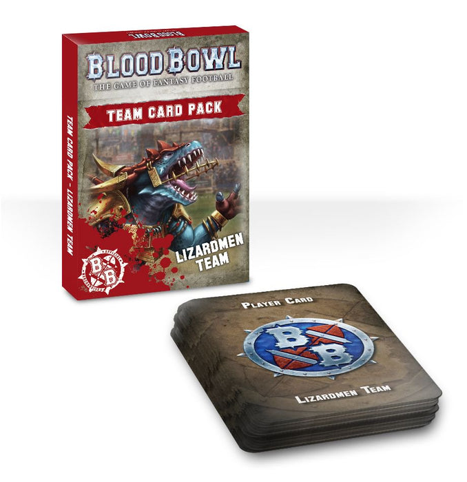 Team Card Pack: Lizardmen Team