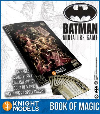 The Book Of Magic For Batman Miniatures Game (English)