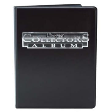 4-Pocket Black Collectors Portfolio