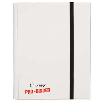 9-Pocket White PRO-Binder