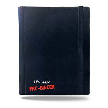 4-Pocket Black PRO-Binder