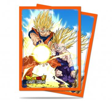 Dragon Ball Super Standard Deck Protector sleeves 65ct, Father-Son Kamehameha