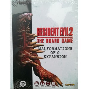 Resident Evil 2 The Board Game Malformations of G Expansion