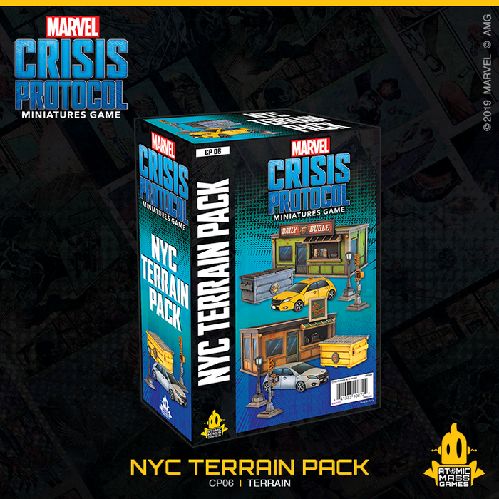 Marvel Crisis Protocol Core: NYC Terrain Expansion